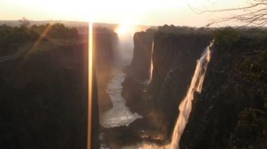 Victoria Falls Time Lapse — Stockvideo