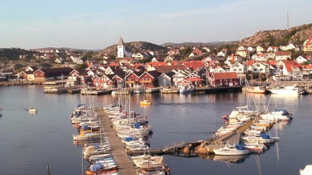 Village of SkSrhamn on the Island — Vidéo