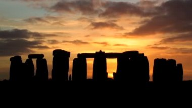 Stonehenge Wiltshire, England — Stock Video