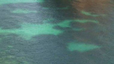Mediterranean Sea and its colours — Vídeo de stock