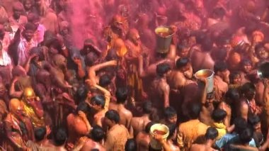 Holi Festival in India — Stock Video