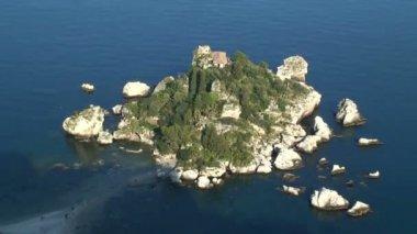 Isola Bella Island in Italy — Stock Video