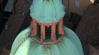 The Dome of the San Bartolomeo — Stock Video