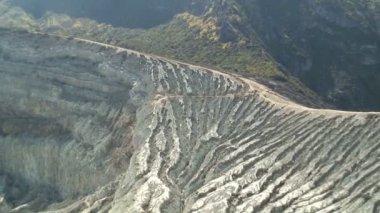 Kawah Ijen Ijen Plateau — Stock Video