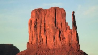 Sandstone rock formations — Stock Video