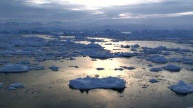 Sea ice , Greenland — Stock Video