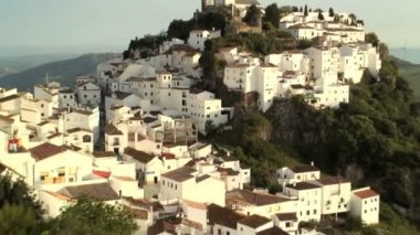 White houses in Andalucia — Stock Video