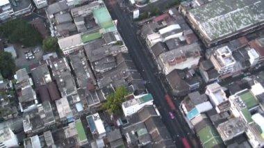 Bangkok City Buildings and Traffic — Stock Video