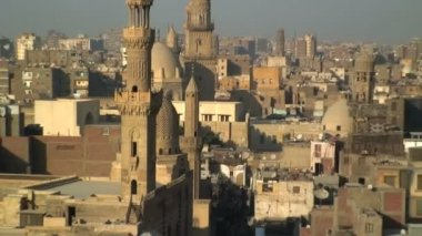 Landscape view of Cairo Egypt — Stock Video