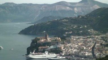 Lipari Island in Italy — Stock Video