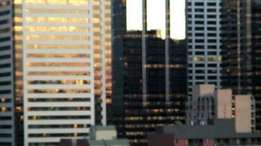 Skyline of Calgary — Stock Video