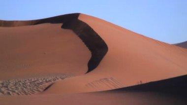 Sandstorm in the Sand Dunes — Stock Video