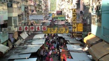 Fa Yuen St Market — Stock Video