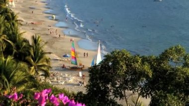 La Ropa beach Zihuatanejo Mexico — Vídeo de stock
