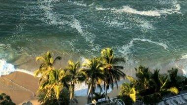 Acapulco beach paradise — Stock Video
