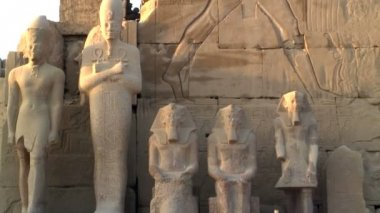 Temple of Karnak Luxor — Stock Video