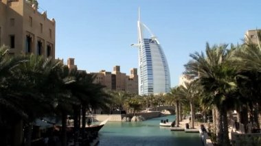 Burj Al Arab Hotel Dubai — Stok video