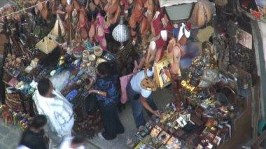 Street Market in Cairo — Stock Video