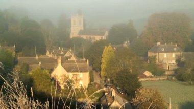 Naunton village in England — Stock Video