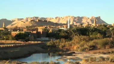 Al - Qasr Dakhla Oasis — Stock Video