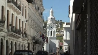 Cathedral Metropolitana in Quito — Stok video