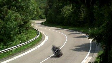 Motor Bikes in Germany — Stock Video
