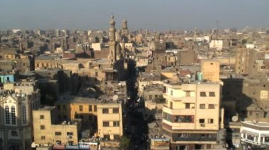 Landscape view of Cairo Egypt — Vídeo de stock
