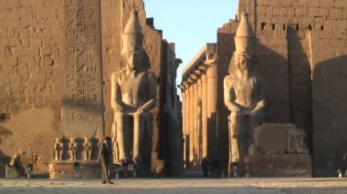 Temples of Karnak Luxor Egypt — Vídeo de stock