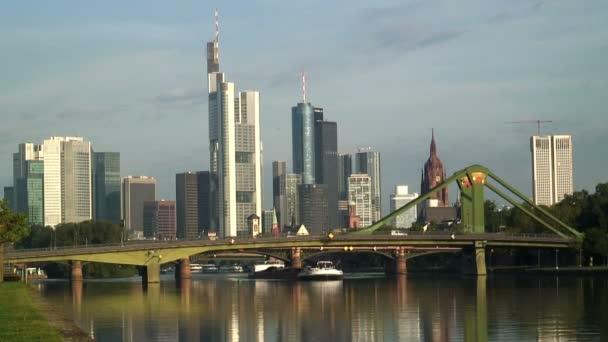 The financial City of Frankfurt — Vidéo