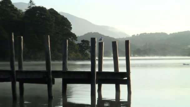 Jetty on Derwent lake — Vidéo