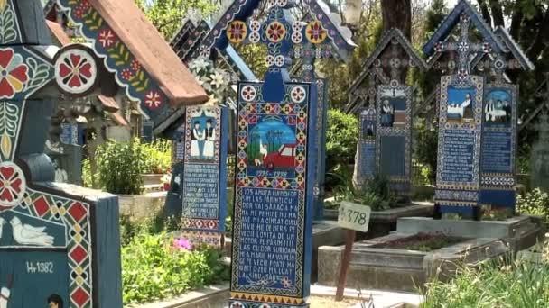 Graves in Merry Cemetery — Vidéo