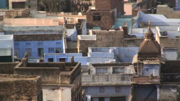 Traditionally built homes in India — Vidéo