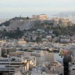 The City of Athens with the Acropolis — Stock Video #62037563