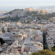 The City of Athens with the Acropolis — Stock Video #62038835