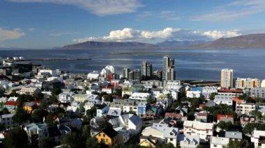 Reykjavik city — Stock Video