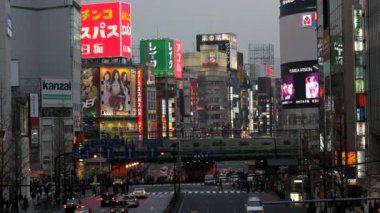 Traffic congestion in Japan — Stock Video