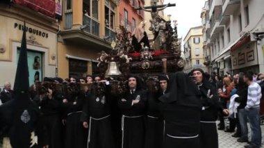 Semana Santa in Spain — Stock Video