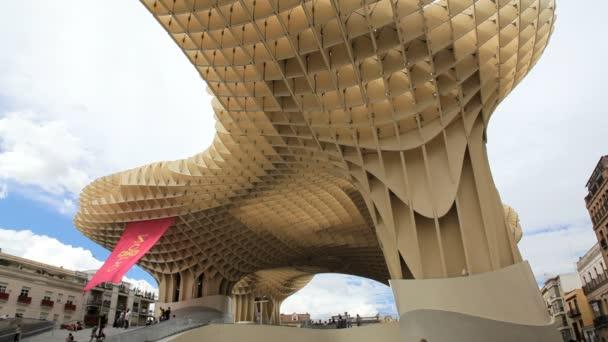 Metropol Parasol Sevilla — Vidéo