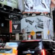 People traffic and billboards of Times Square, New York, USA — Stock Video #62043207