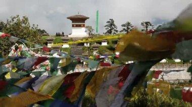 Chortens or Stupas — Stock Video