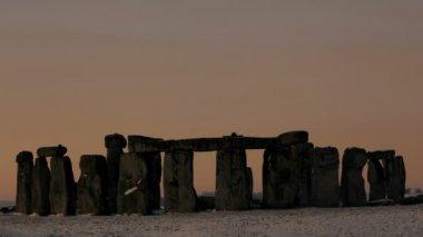 Sunrise over Stonehenge — Stock Video