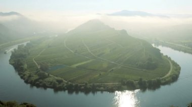 River Mosel Germany — Video Stock