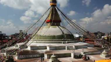 Boudhanath Stupa — Stock Video