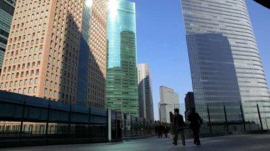 City centre office Buildings — Stock Video