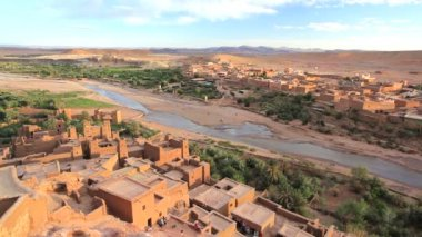 Fortified town of Ait Benhaddou — Stock Video
