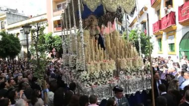 Semana Santa in Spain — Stock Video
