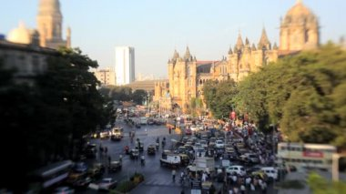 View of central Mumbai — Video Stock