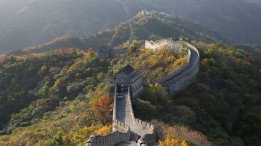 Great Wall in disrepair large sections — Video Stock