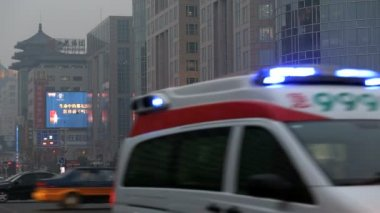 Wangfujing shopping street central Beijing — Vídeo de Stock