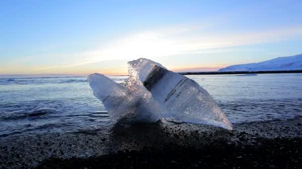 Melting sea ice — Vidéo
